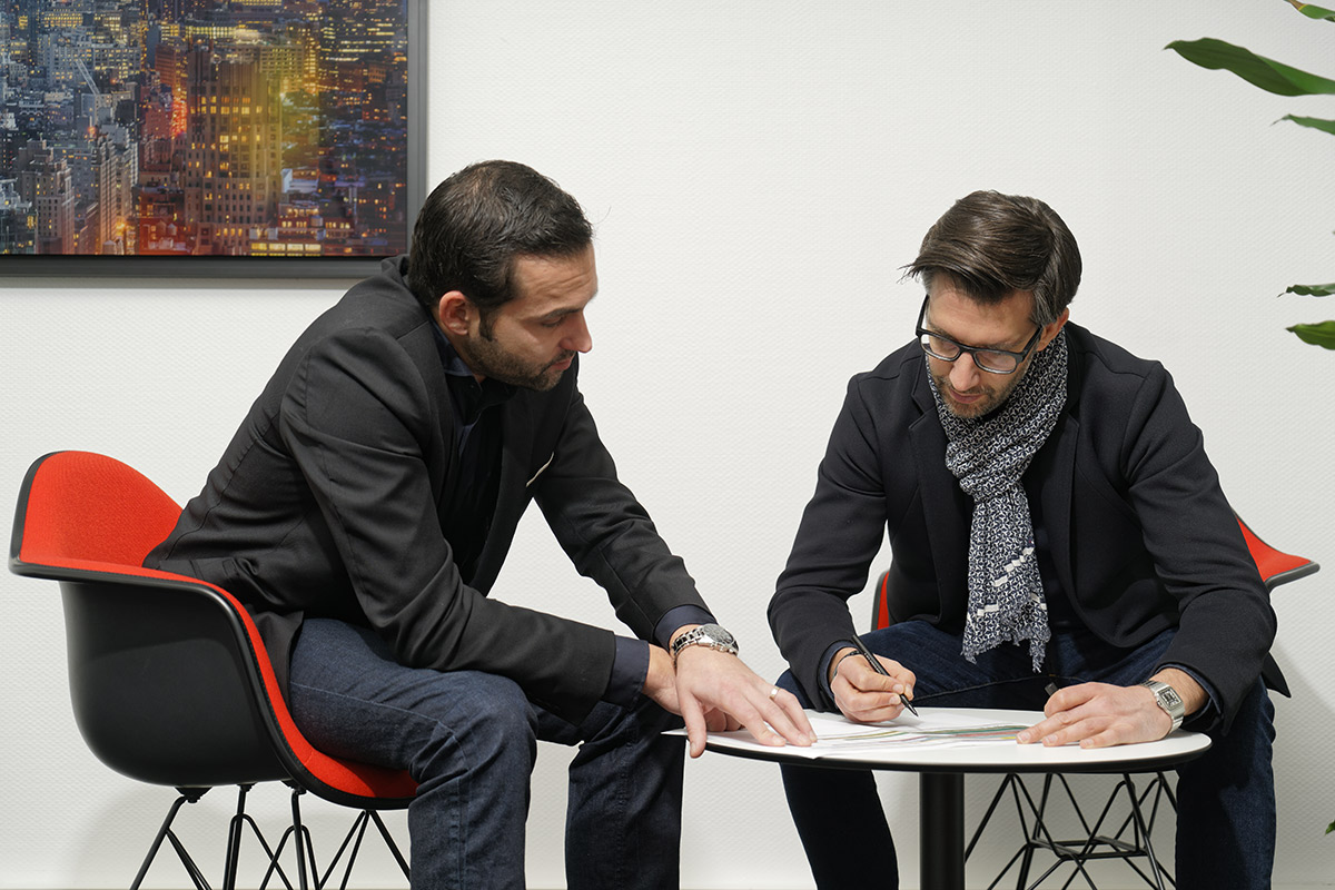 Benoit Rader & Mickael Amblard